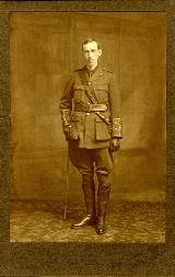 Robert Leiper in uniform