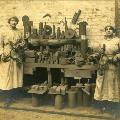 Press photograph of women factory workers during WW1