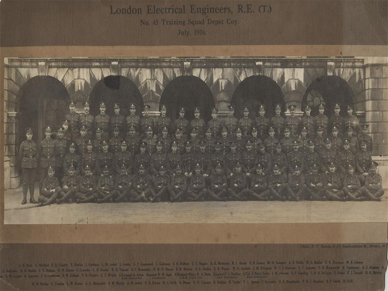 London Electrical Engineers, No.45 Training Squad