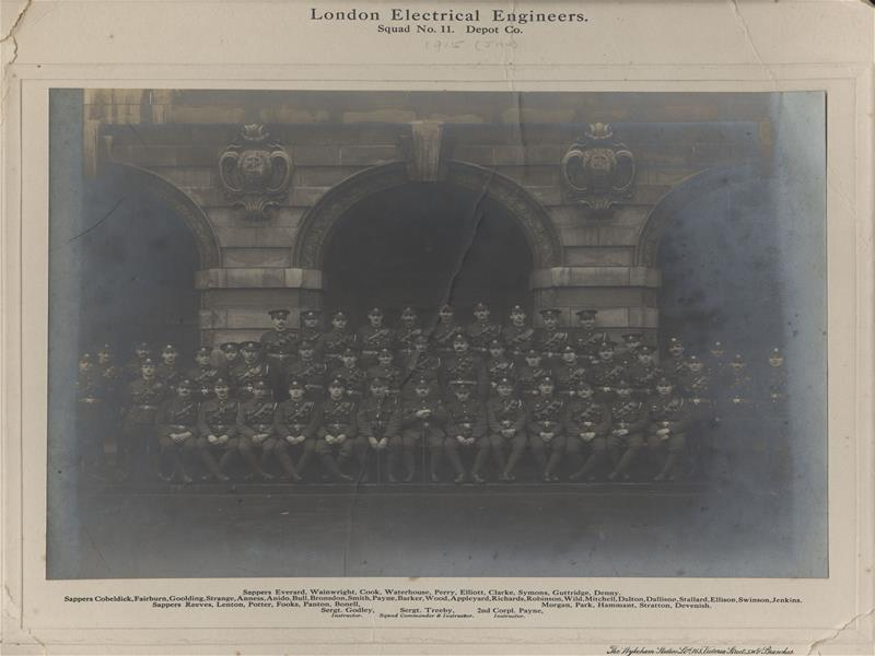 London Electrical Engineers, No 11 Depot Co Squad