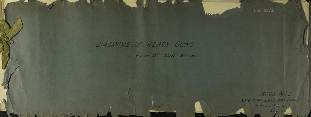 Book 2, Diagrams for Heavy Guns, 67-97 tons